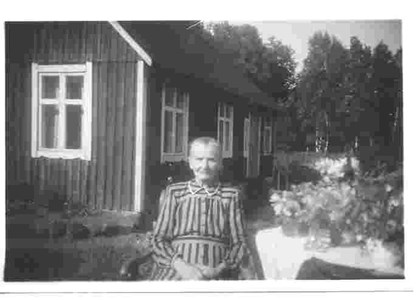 Hulda Dyberg i Bökesåkra