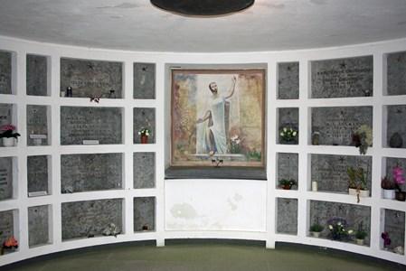 Riseberga kyrkogård, Kolumbariet