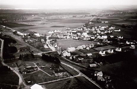 Ljungbyheds tätort 1930