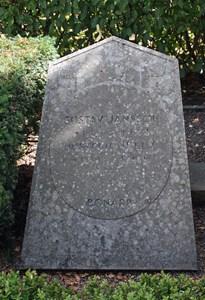 Gravsten Riseberga Gustaf Jansson, Bonarp