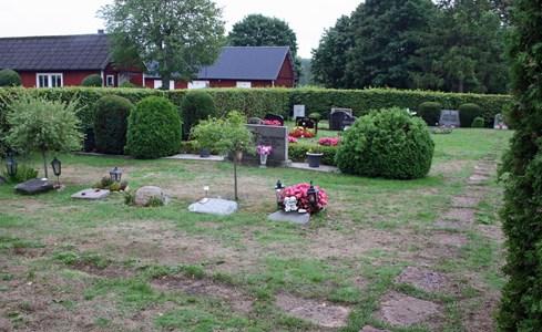 Riseberga kyrkogård, del av kvarter V