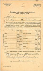 Arealinventering 1917, Äktaboden Kärrbacka