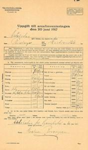 Arealinventering 1917, Äktabogården