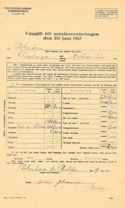 Arealinventering 1917, Bökesåkra, Havahuset