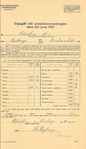 Arealinventering 1917, Bökesåkragården