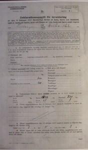 Deklarationsuppg. 1917, Äktaboden, Johan Jönssons, sid 1