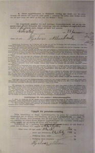 Deklarationsuppg. 1917, Åstratorp, Björnhult, sid 2