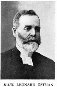 Kyrkoherde Karl Östman