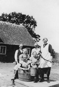Olga Bengtsson med barn