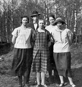 Syskon Thornström i Algustorp