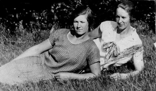 Alma Thornström och Anna Thornström.