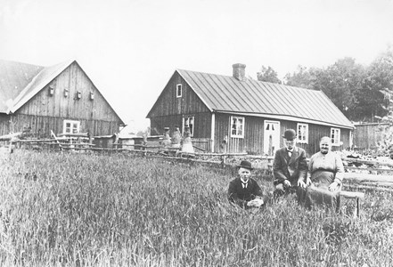 Anton Bengtsson, Nils Bengtsson och Assarina Nilsdotter