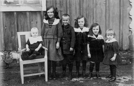 Sex syskon Olsson