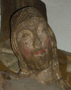 Krucifixet i närbild