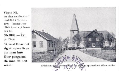 Sockenstugorna söder om kyrkan