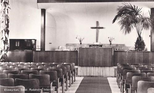 Interiör från Elimkyrkan