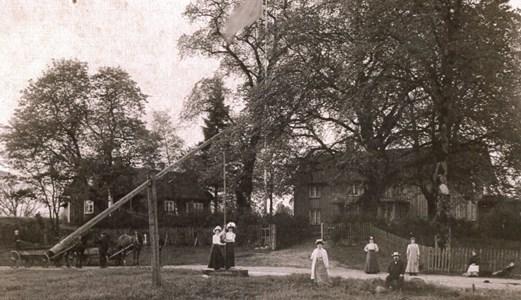 Hestra Prästgård ca 1910