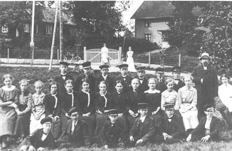 Konfirmationsundervisning 1915