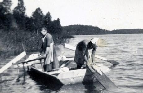 Tvättning i sjön
