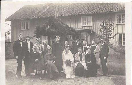 Bröllop i Prästgården