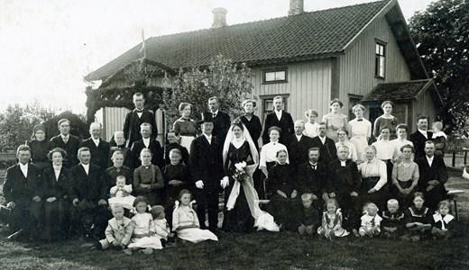 Bröllop Gustaf & Alma Magnusson