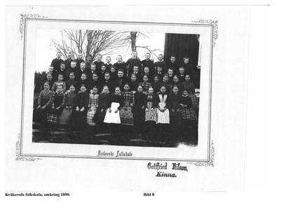 Klassfoto c:a 1890