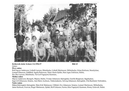 Klassfoto 1956-57