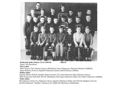 Klassfoto 1963-64