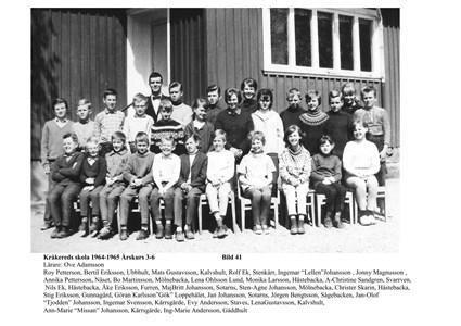 Klassfoto 1964. Årskurserna 3-6