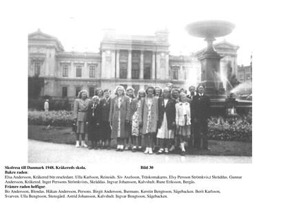Skolresa till Danmark 1948