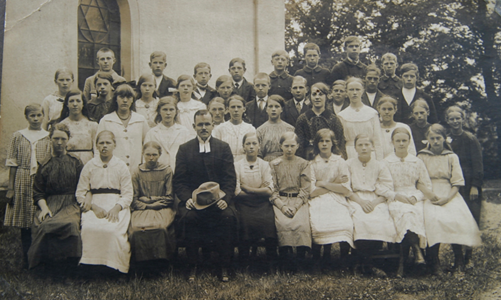Konfirmander 1920