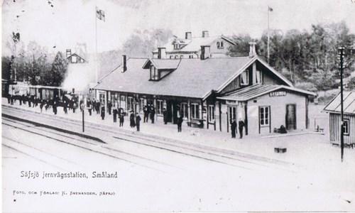 Sävsjö järnvägsstation