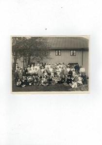 Sävsjö missionskyrka och söndagsskoleelever med ledare
