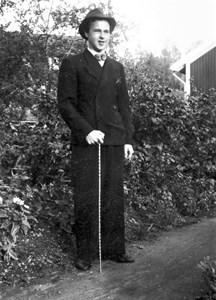 Bertrand Svensson vid Nain