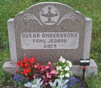 Andersson Oskar och Klara Sofia,  Åsen