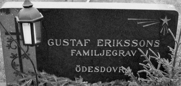 Eriksson Gustaf,  Ödesdovra