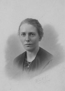 Nanny Jonsson, lärarinna Trottorp småskola PJ..JPG