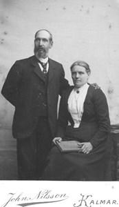 Teodor Svenssons föräldrar Snickar Ols, Trottorp.JPG