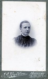 Okänd kvinna 191017