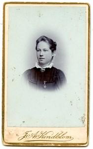 Okänd ung kvinna 191009