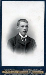Okänd ung man 191009