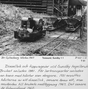 Sundby tegelbruk - lertransport