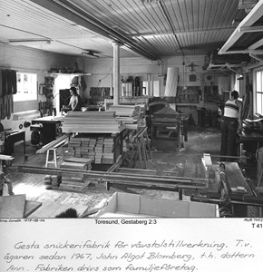 Gesta snickerifabrik