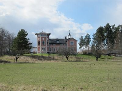Mangårdsbyggnaden i Salby