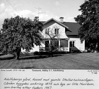 Mangårdsbyggnaden på Adolfsberg