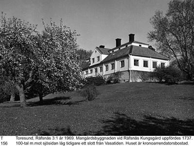 Mangårdsbyggnaden på Räfsnäs