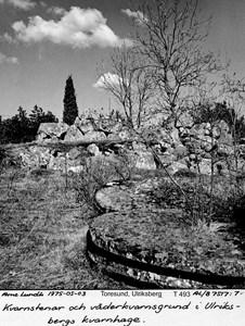 Grunden till den gamla kvarnen på Ulriksberg