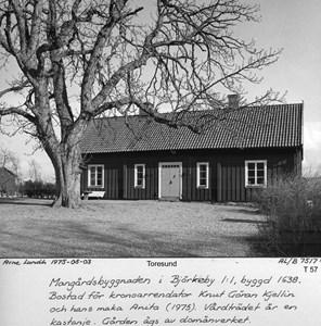 Mangårdsbyggnaden vid Björkeby