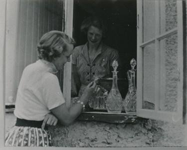 Auktion på Skeppet 19 juli 1952