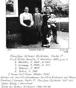 Familjen Hilmer Eriksson